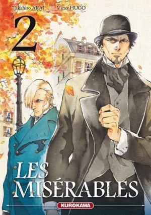 couverture, jaquette Les Misérables 2  (Kurokawa)