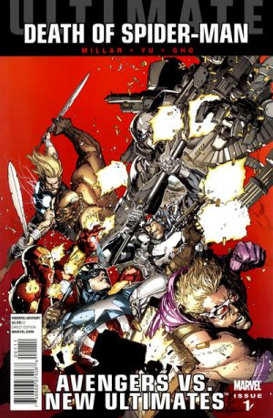 Ultimate Avengers vs. New Ultimates # 1 Issues