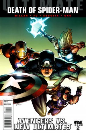 Ultimate Avengers vs. New Ultimates # 2 Issues