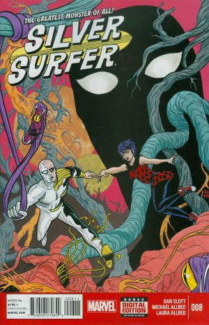 Silver Surfer # 8 Issues V7 (2014 - 2015)