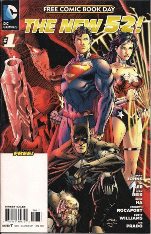 Free Comic Book Day 2012 - The New 52 # 1 Issues