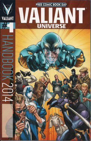 Free Comic Book Day 2014 - Valiant Universe Handbook 1 édition Issues