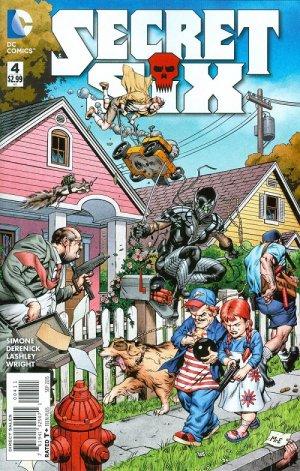 Secret Six # 4 Issues V4 (2015 - 2016)