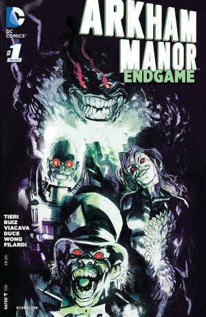 Arkham Manor - Endgame édition Issues