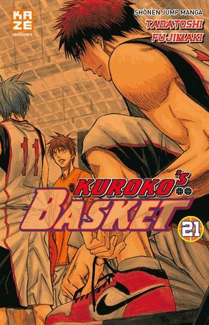 couverture, jaquette Kuroko's Basket 21  (kazé manga)