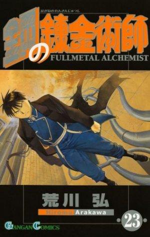 couverture, jaquette Fullmetal Alchemist 23  (Square enix)