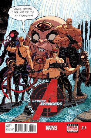 Secret Avengers # 13 Issues V3 (2014 - 2015)