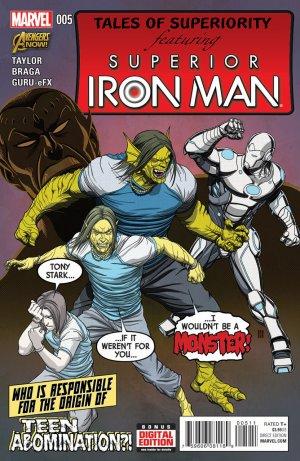 Superior Iron Man # 5 Issues V1 (2014 - 2015)