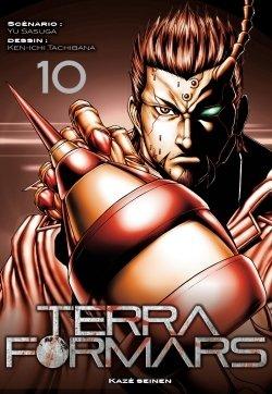 couverture, jaquette Terra Formars 10  (kazé manga)