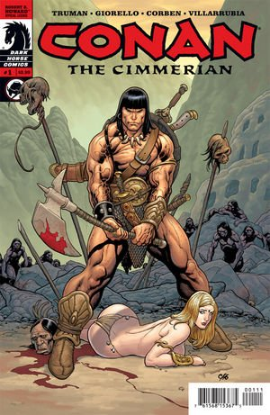 Conan the Cimmerian édition Issues (2008 - 2010)
