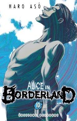 couverture, jaquette Alice in Borderland 10  (Delcourt Manga)