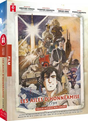 Les Ailes d'Honneamise édition Combo Collector DVD + Blu Ray