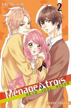 couverture, jaquette Ménage à trois 2  (Tonkam) Manga