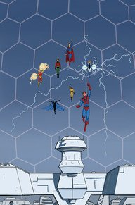 Convergence - Superboy and The Legion of Super-Heroes # 1 Issues