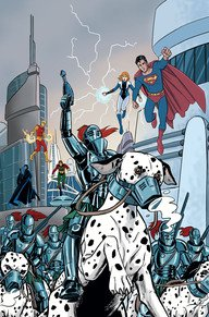 Convergence - Superboy and The Legion of Super-Heroes # 2 Issues