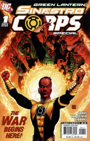 Green Lantern Sinestro Corps Special édition Issues