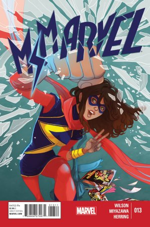 Ms. Marvel 13 - Crushed, Part One of Three
