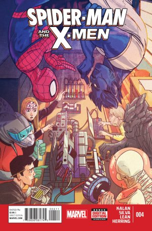Spider-Man and The X-Men # 4 Issues (2014 - 2015)