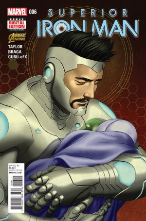 Superior Iron Man # 6 Issues V1 (2014 - 2015)