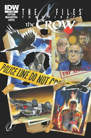 The X-Files / The Crow - Conspiracy édition Issues