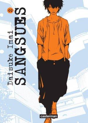 couverture, jaquette Sangsues 2  (casterman manga)
