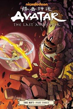 Avatar - The Last Airbender - The Rift Anime comics