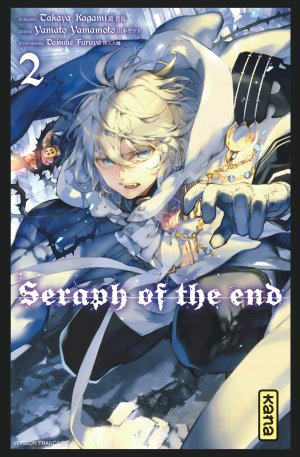 couverture, jaquette Seraph of the end 2  (kana)