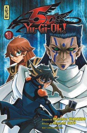 couverture, jaquette Yu-Gi-Oh! 5D's 8  (kana) Manga