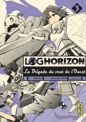 Log Horizon - La brigade du vent de l'Ouest # 3