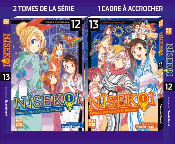Nisekoi édition Coffret 12 + 13
