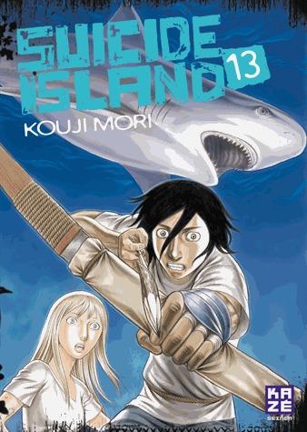 couverture, jaquette Suicide Island 13  (kazé manga)