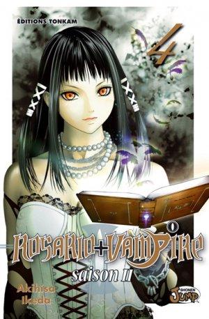 couverture, jaquette Rosario + Vampire - Saison II 4  (Tonkam)