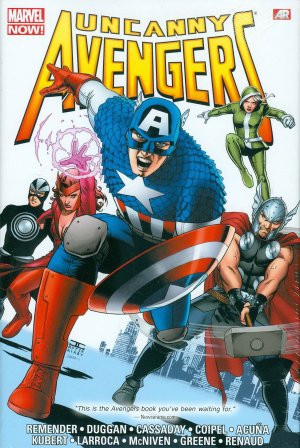 Uncanny Avengers édition TPB Hardcover - Omnibus - Issues V1