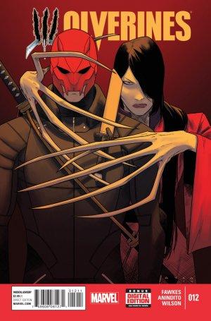 La mort de Wolverine - Wolverines # 12 Issues V1 (2015)