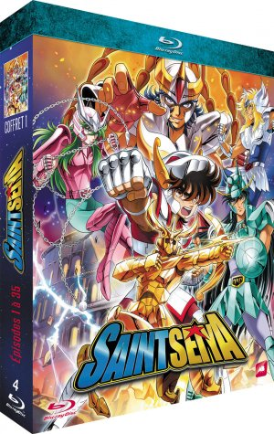 Saint Seiya - Les Chevaliers du Zodiaque édition Blu-ray