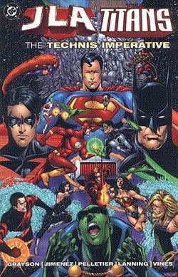 JLA / Titans édition TPB softcover (souple)