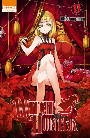 couverture, jaquette Witch Hunter 17  (Ki-oon) Manhwa