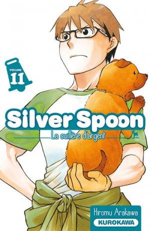 couverture, jaquette Silver Spoon - La Cuillère d'Argent 11  (Kurokawa)