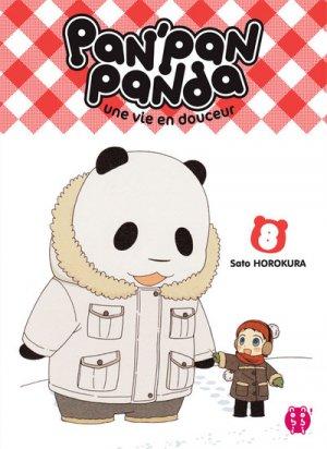 Pan'Pan Panda, une vie en douceur 8 Manga