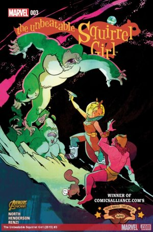 The Unbeatable Squirrel Girl # 3 Issues V1 (2015)