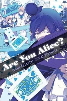 couverture, jaquette Are You Alice? 7 Américaine (Yen Press)