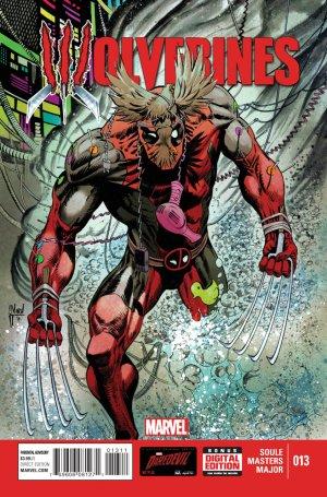 La mort de Wolverine - Wolverines # 13 Issues V1 (2015)