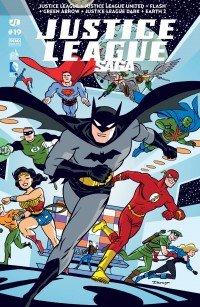 Justice League # 19 Kiosque mensuel