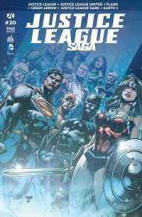 Justice League # 20 Kiosque mensuel