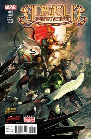Angela - Asgard's Assassin # 5 Issues (2014 - 2015)