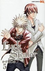 couverture, jaquette Luck Stealer 5  (Shueisha)