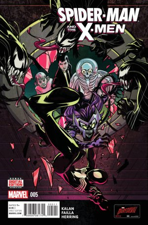 Spider-Man and The X-Men # 5 Issues (2014 - 2015)