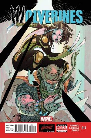 La mort de Wolverine - Wolverines # 14 Issues V1 (2015)