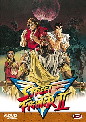 couverture, jaquette Street Fighter II V  INTEGRALE SLIM - VO/VF (Dybex)