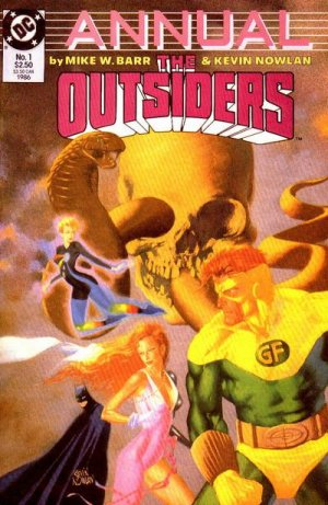 The Outsiders # 1 Issues V1 - Annuals (1986)